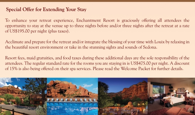 Enchantment Resort Special Offer